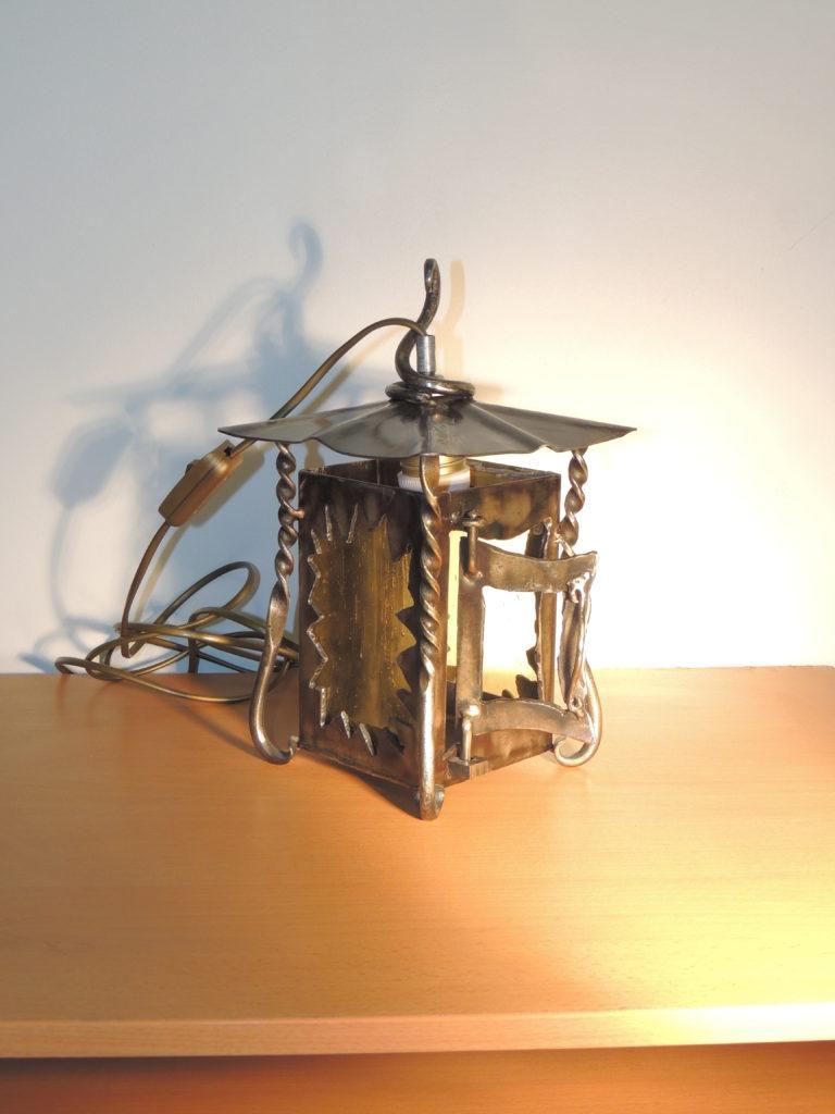 lanterne electrique en fer forge EG Métal