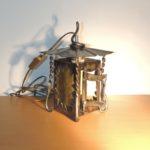 lanterne à suspendre en fer forgé électrique