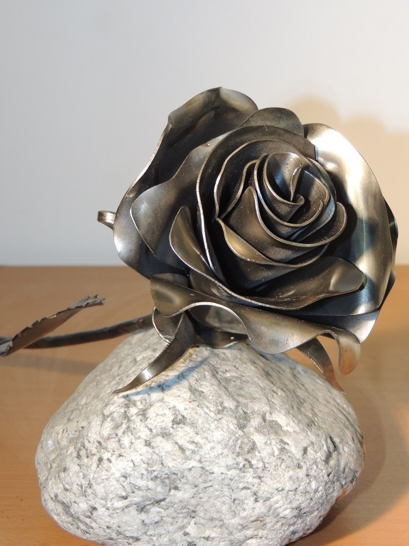 décoration métallique rose EG Métal