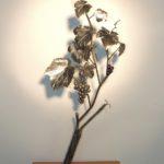 décoration pied de vigne en métal EG Métal